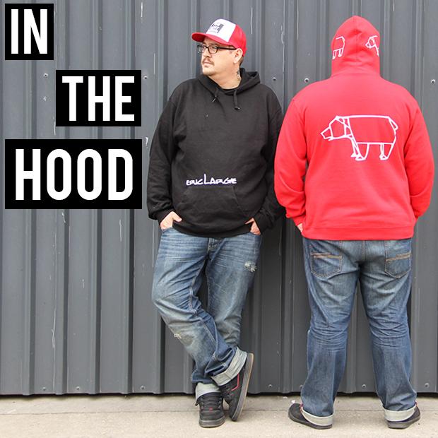 Hoodies Werbung ERIC LARGE