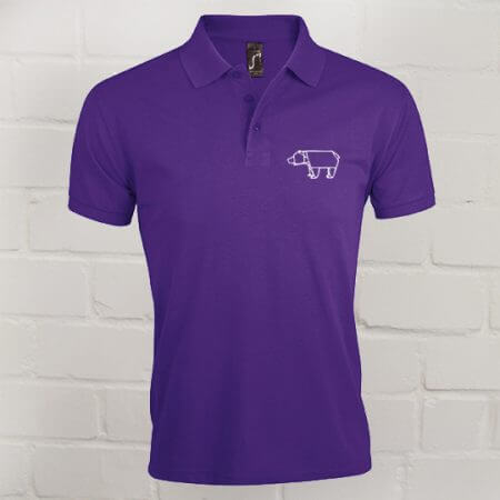 Herren Prime Polo Eric Large purple
