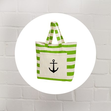 Beach Bag beaching Anker green