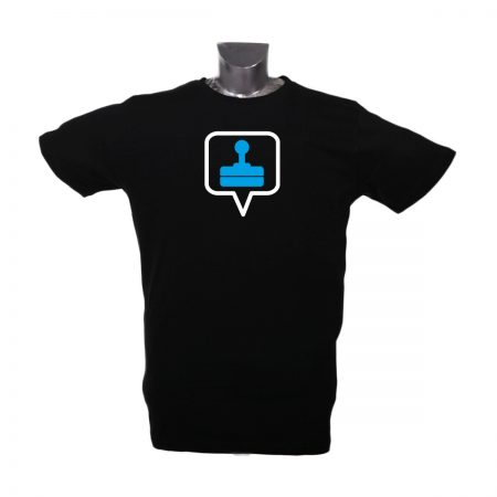 xxl t-shirt icon gamer blau