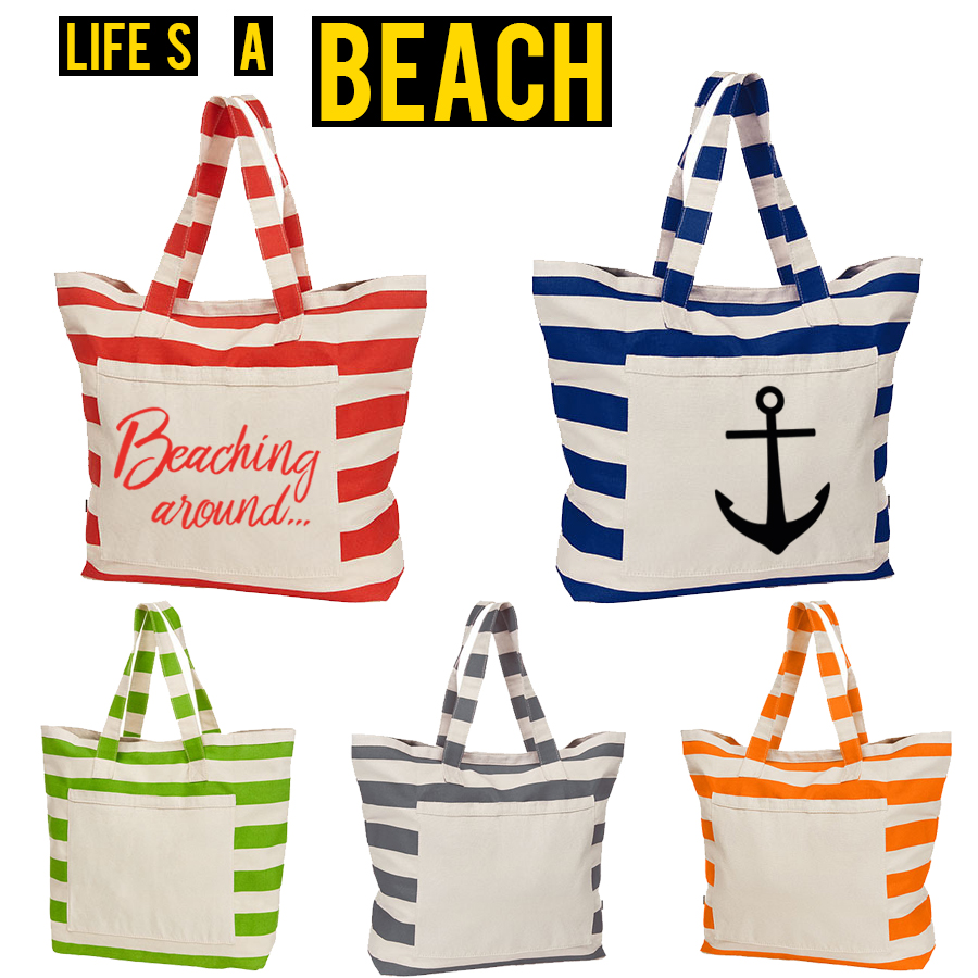 Life is a beach bag von ERIC LARGE