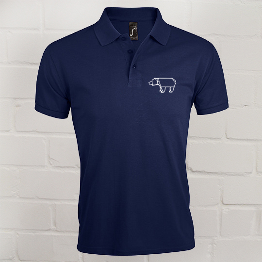 Herren Prime Polo Eric Large french navy