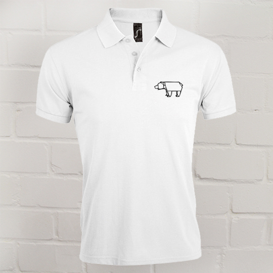 Herren Prime Polo Eric Large weiss