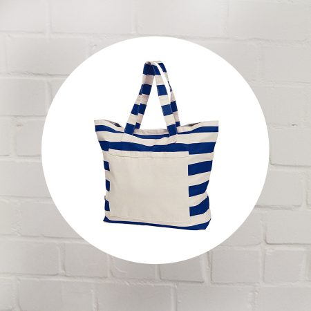 Beach Bag beaching blanko blau