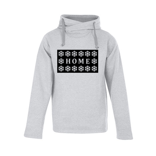 Heather Hoody Home heather grey