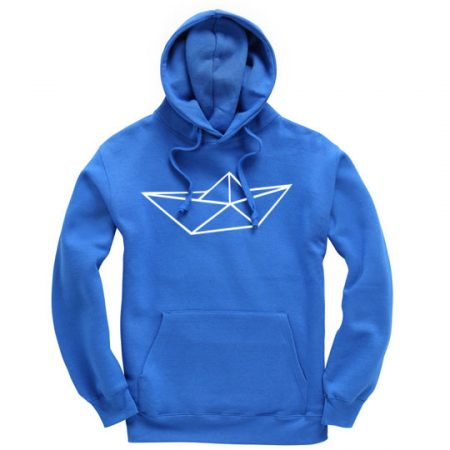 Hoodie in Royal blue