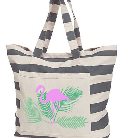 Beach Shopper Flamingo