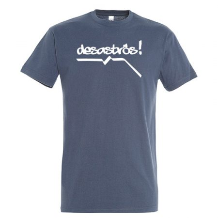 T-Shirt desaströs denim